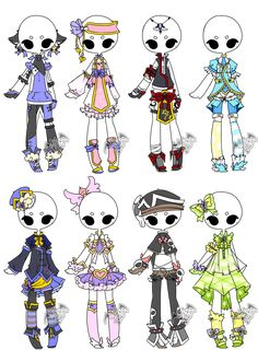 .:Adopted:. Outfit Batch 02 by DevilAdopts.deviantart.com on @DeviantArt