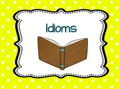 Books for teaching idioms
