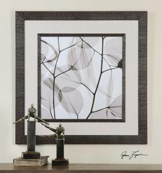 Uttermost Eucalyptus Leaves Framed Art