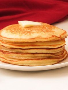 Perfect fluffy pancakes lightly fluffy and ultra moist this is a fluffy american pancakes ccuart Gallery