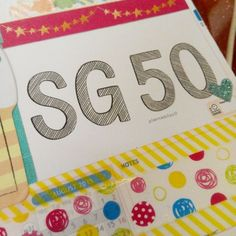 """Happy 50th birthday, Singapore!  #plannerobsessed #plannerlove #plannernerds #plannerjunkie #planneraddict #personalplanner #sg50 #nationalday #birthday…"""