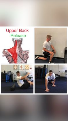 Back Workout Routine, Gym Workout Videos, Gym Workout For Beginners, Gym Workouts, At Home Workouts, Neck Yoga, Workout Room Home, Scoliosis, Functional Training