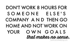 Work For YOURSELF -