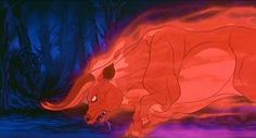 The Red Bull from the Last Unicorn. This movie always scared me lol The Last Unicorn, Fantasy Story, Reference Images, Best Cosplay, Thriller, Mystic, Fairy Tales, Creatures, Animation