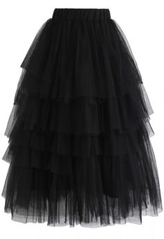 online shopping for Chicwish Women's Nude Pink/Black Tiered Layered Mesh Ballet Prom Party Tulle Tutu A-line Midi Skirt from top store. See new offer for Chicwish Women's Nude Pink/Black Tiered Layered Mesh Ballet Prom Party Tulle Tutu A-line Midi Skirt Mode Outfits, Skirt Outfits, Fashion Outfits, Black Tulle Skirt Outfit, Navy Dress, Striped Dress, Chic Outfits, Summer Outfits, Unique Fashion