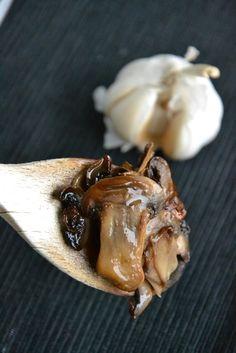 Funghi saltati all'olio tartufato
