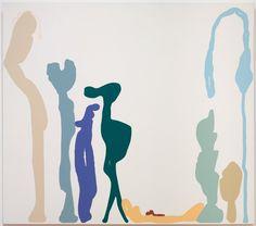High Rolling, 1998 Monique Prieto (American, b. 1962) acrylic on canvas, Unframed - h:182.80 w:208.20 cm (h:71 15/16 w:81 15/16 inches). Gift of Scott Cutler 2009.436