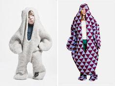 I really want a snuggie this winter. So funny! Check out http://www.vikprjonsdottir.com/home