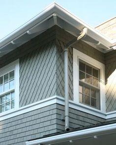 Diamond swirl copper shingle dome and elipse domes Decorative rafter tails