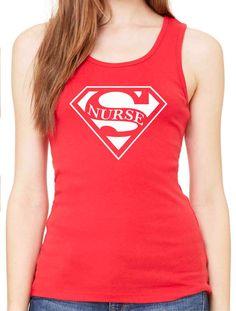 Hey, I found this really awesome Etsy listing at https://www.etsy.com/listing/218907197/super-nurse-women-tank-top-shirt-nurse