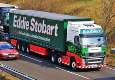 Stobart Group Volvo FH Eddie Stobart Trucks, Fan Picture, Air France, Commercial Vehicle, Cool Trucks, Buses, Volvo, Tractors, Planes