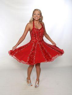 Dresses | Halter style panel dress | Gail McInnis Productions