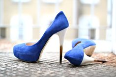 Two blue - I want these shoes.