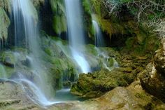 Cascade du Salto de la Caula, Costa Brava - Catalogne (Espagne)