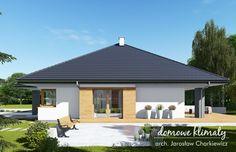 Projekt domu Neptun IV , wizualizacja 2 Gazebo, House Plans, Outdoor Structures, House Design, Outdoor Decor, Home Decor, Tattoo Drawings, Buildings, Bedroom