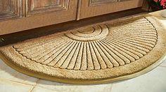 Outdoor Décor-Sunburst Coir Brush Doormat 36 X 72 Extra Large >>> Click image to review more details.