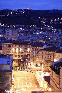Trieste Piazza - Friuli-Venezia Giulia, Italy