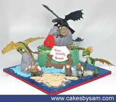 how to train dragon cake - Google Search