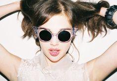 Wing sunglasses / Jeremy Scott x Linda Farrow
