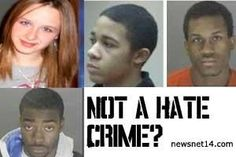 3 blacks kill pregnant white 21 yo. And its never a hate crime!
