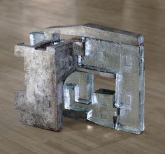 Puzzle 2006  Glas/Bronze 50cm x 80cm x 30cm