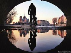 París a través de los reflejos  Foto: Joanna Lemanska