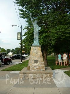 Mini Statue of Liberty - Garnett, KS