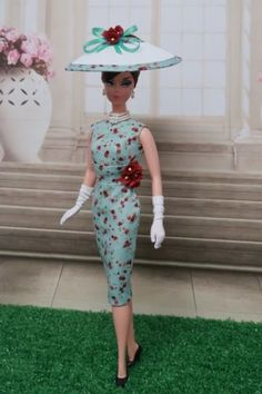 Sheath-Dress-For-Silkstone-Doll-Victoire-Roux-Doll-Poppy-Parker-By-Kunchris