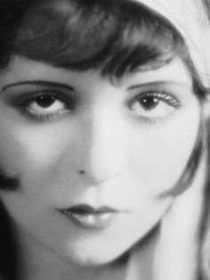 """""""At first, they thought I was dead… I don't suppose two people ever looked death in the face more clearly than my mother and I the morning I was born. We were both given up, but somehow we struggled back to life.""""  --  Clara Bow"""