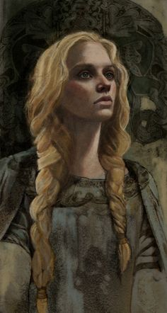 Eowyn-from Lord of the Rings.  This image reminds me of Medraut's sister, Essylt...so like her, I wish it was her.