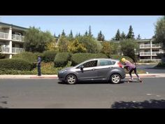 Boosted Electric Skateboards | Literally Pushing Cars off the Road / via Boosted Boards