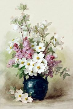 Цветы - букеты - разные авторы