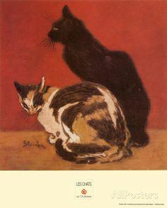 Cats, 1910 by Théophile Alexandre Steinlen