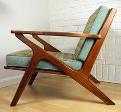 Danish Modern Z chair by Kimberly Roberts, via Flickr