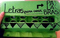 Huevera reciclada. Diy, Recycled Materials, Create, Bricolage, Do It Yourself, Homemade, Diys, Crafting
