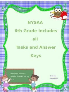 Worksheets Nysaa Worksheets pinterest the worlds catalog of ideas nysaa is already made up for you it includes all 6th grade ela tasks 1
