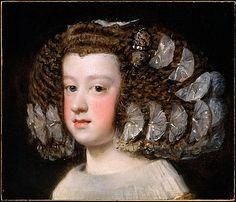 María Teresa (1638–1683), Infanta of Spain  Velázquez (Diego Rodríguez de Silva y Velázquez)  (Spanish, Seville 1599–1660 Madrid)