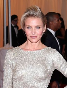Cameron Diaz bizarre Theres Something About Mary-esque hairstyle