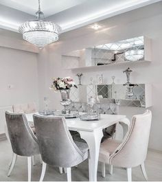 Quality Furniture, Online Furniture, Luxury Dinning Room, Ikea, Studio Apartment, Home Fashion, Decoration, Home Kitchens, New Homes