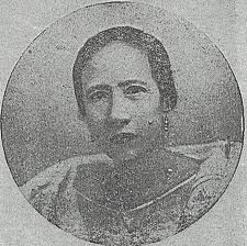 Gregoria De Jesus- One of the brave and patriotic women who played a heroic role in the Philippine revolution.Wife of Andres Bonifacio and lakambini of katipunan.