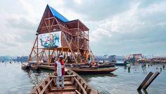 Makoko Floating School by NLE, in Lagos