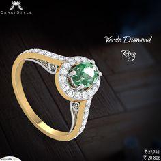 Gemstones look amazing surrounded by Diamonds!   #GemstoneRing #DiamondRing #womensday #forevermark #theknotrings #admade  #weddinginspiration #glamour #heart #giftideas