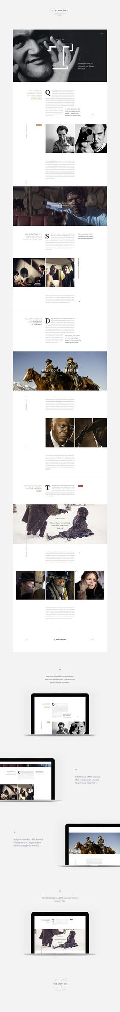I love when designers are able to translate a classic editorial design to the web, even if it's just for static mocks.