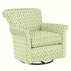 Swivel Glider and Ottoman - many color options *remember* Glider And Ottoman, Swivel Glider, Swivel Chair, Armchair, Baby Bedroom, Baby Store, Gliders, New Room, Crate And Barrel