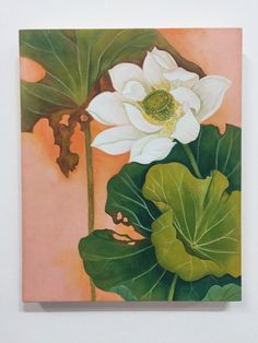 garden of the far east Flower Painting Canvas, Mural Painting, Silk Painting, Lotus Flower Art, Lotus Art, Korean Painting, Chinese Painting, Watercolor Flowers, Watercolor Paintings