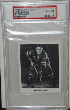 PSA 6 1965 Coca Cola Jim Neilson New York Rangers Hockey Card Sold And Photographed By Thegoodoldboys by Coca Cola. $25.00. A great rare item!         ***For anyone that wants to buy more than 1 from me, Thegoodoldboys***  Amazon won't let me fix the shipping, so what has to be done is when you buy multiple items from me, you will get charged shipping for each one.  What I can do is then refund you the excess shipping after I ship everything out to you.