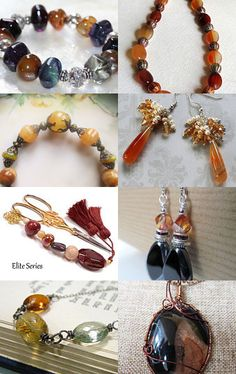 Autumn Gemstones by Pamela Baker on Etsy--Pinned with TreasuryPin.com