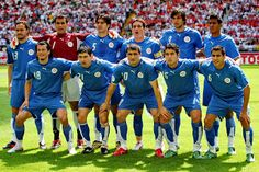 EQUIPOS DE FÚTBOL: SELECCIÓN DE PARAGUAY contra Inglaterra 10/06/2006