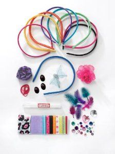 A girl can never have enough cute headbands. Include this great headband kit in your shoebox!