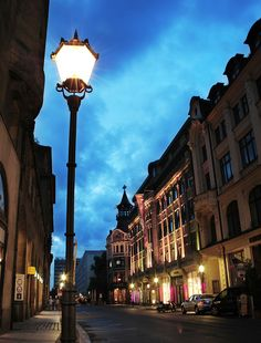 street in leipzig, germany